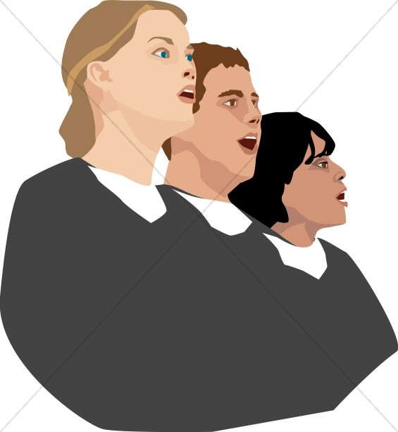 Three Person Choir