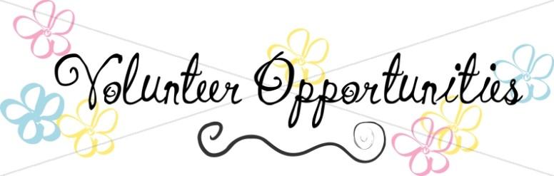 Church Volunteer Opportunities