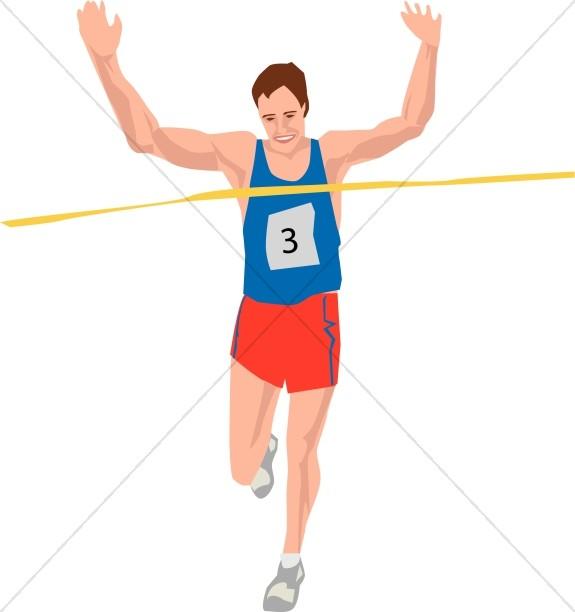 Finish Line Winner