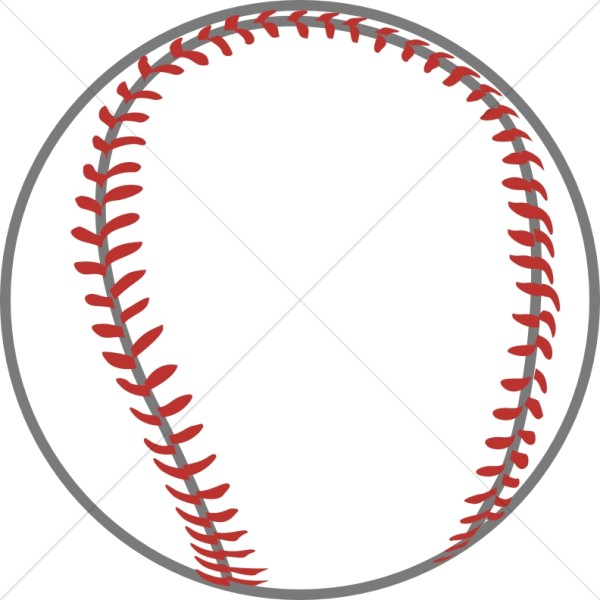 Baseball with Red Thread