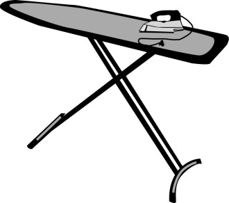 Traditional Ironing Board