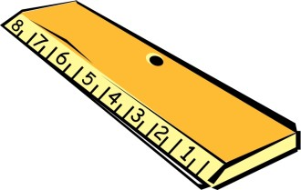 Wooden Ruler