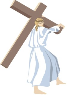 Simple Jesus With Cross