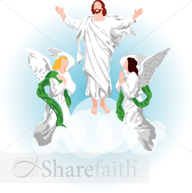 Jesus and Angels Clipart Images