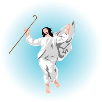 Jesus the Good Shepherd Clipart