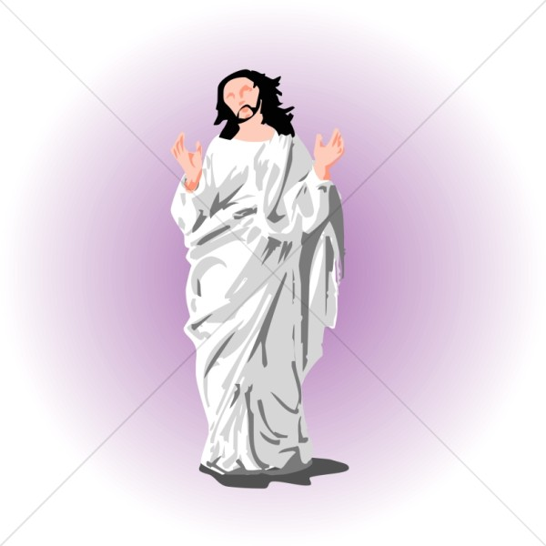 Messiah in White Robes