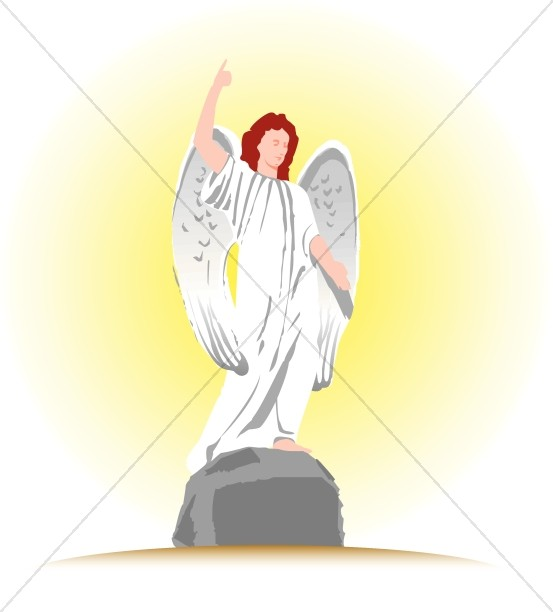 Angel Statue Christian Cliparts