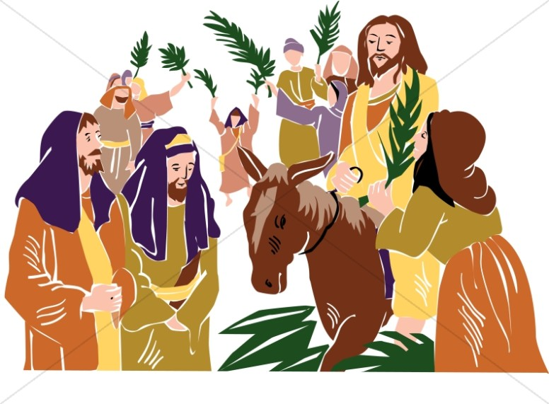 Christ Rides into Jerusalem