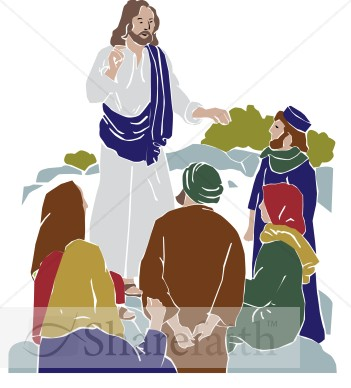 Jesus Teaching Followers