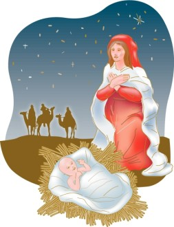 Mary Gives Thanks on Christmas