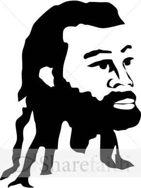 African Jesus | Jesus Clipart
