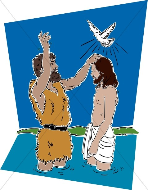 Jesus with John the Baptist