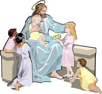 Jesus Teaching the Children