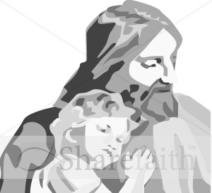 Jesus and Child Portrait
