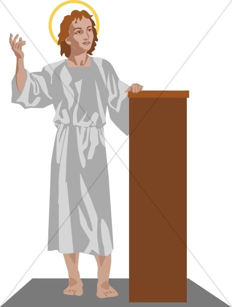 Young Jesus Teaches the Faith