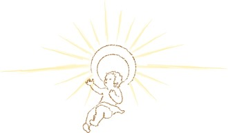 Child with Shining Halo
