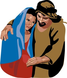 Mary and Joseph Portrait