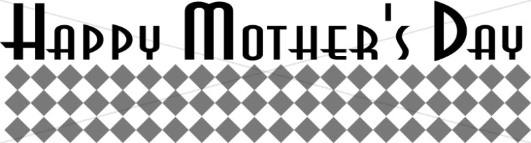 Happy Mother's Day Menu Header