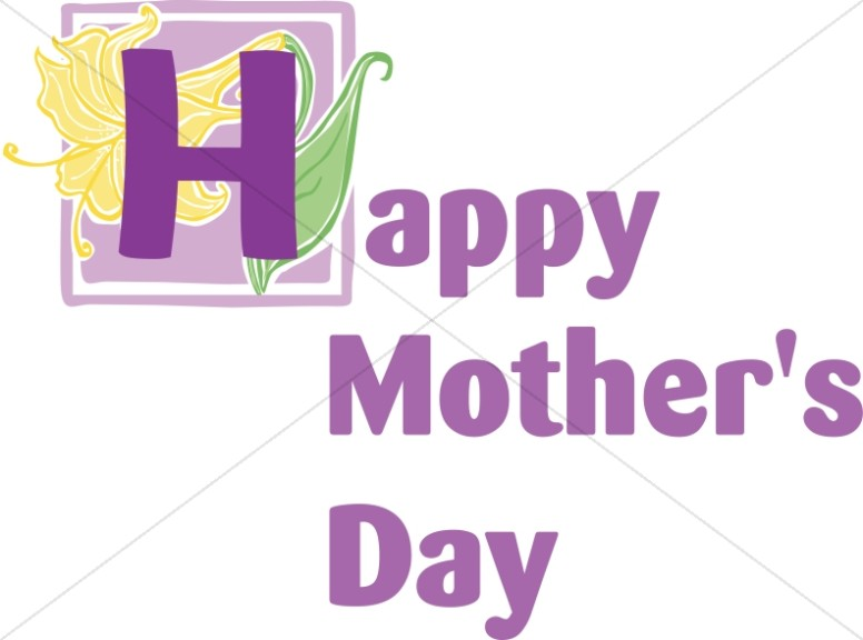 Big Purple Mother's Day Wish