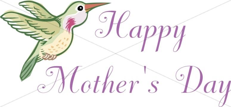 Happy MOther's Day Hummingbird