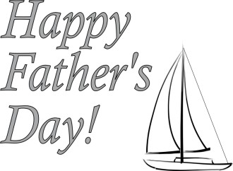Happy Father's Day and Sailboat