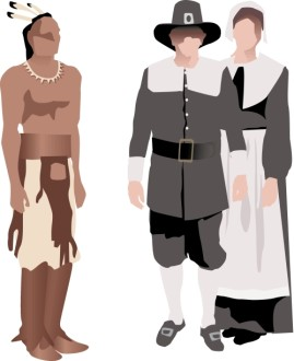 Native American and Pilgrim Symbolic