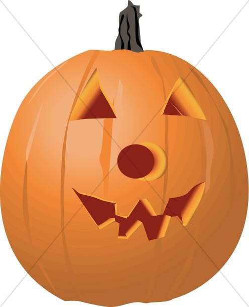 Happy Jack o' Lantern for Halloween
