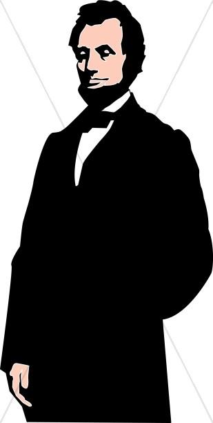 Abraham Lincoln Lay Holiday Clipart
