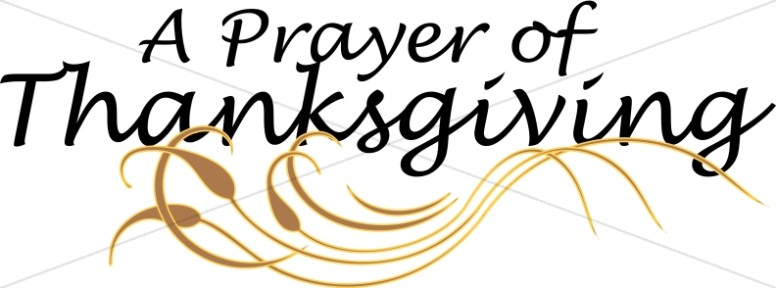 A Prayer of Thanksgiving with Ornament