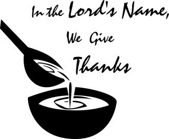 In the Lord's Name We Give Thanks