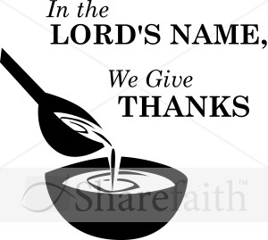 Simple In the Lord's Name we Give Thanks