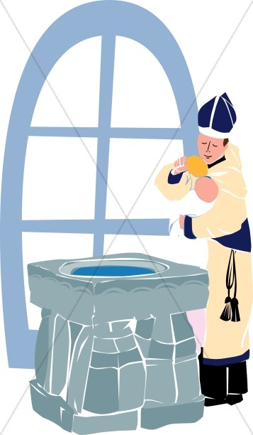Infant Baptism at the Well