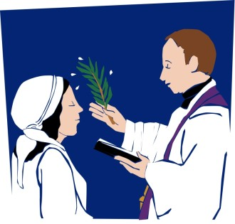 Ash Wednesday Blessing Image