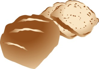 Brown Wheat Bread Loaf
