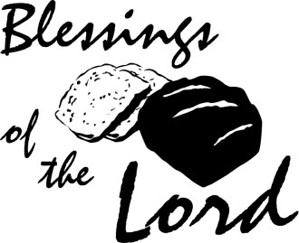 Blessings of The Lord with Bread