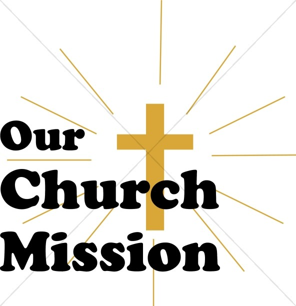 Our Church Mission with Shining Cross