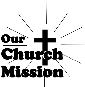 Black and White Our Church Mission