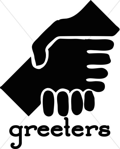 Greeters Handshake