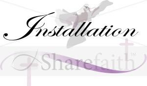 Pastors Installation Service Clip Art