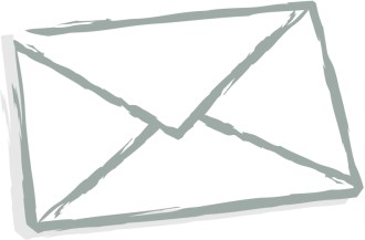 Stylized Envelope Back