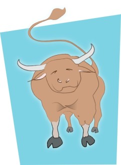 Cheerful Bull