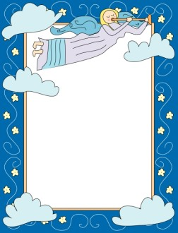 Cartoon Angel Frame
