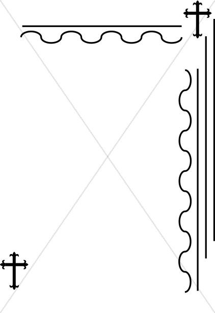 Christian Cross Corner