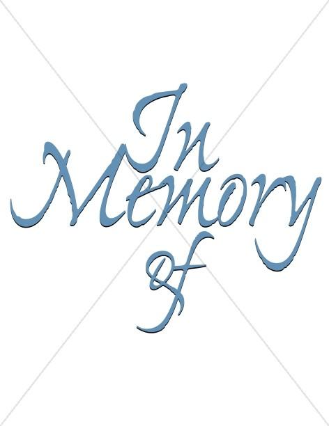 Memorial Title