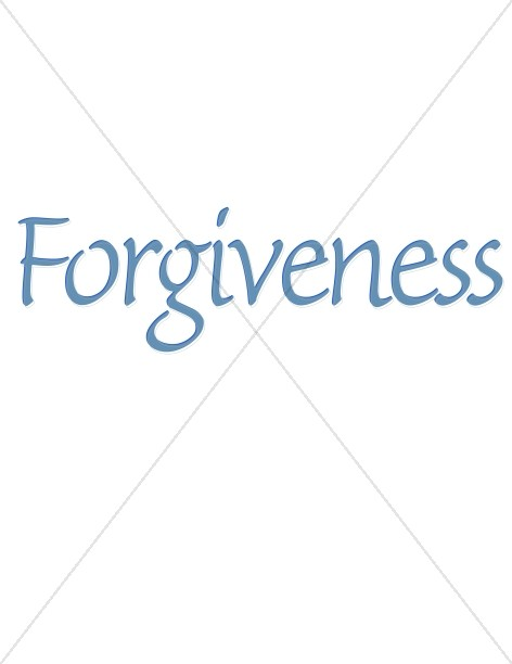 Forgiveness in Blue