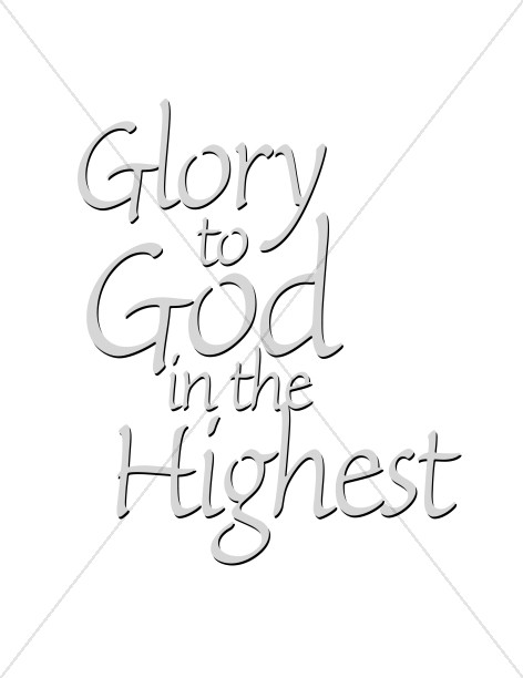 Gray Glory to God in the Highest