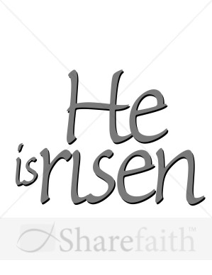 Gray He Is Risen