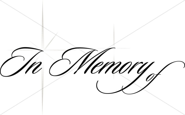 Memorial Title with Stars