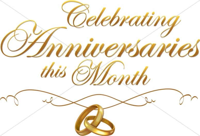 Multiple Anniversary Celebration script with rings
