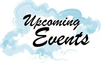 Upcoming Events with Cloud Image